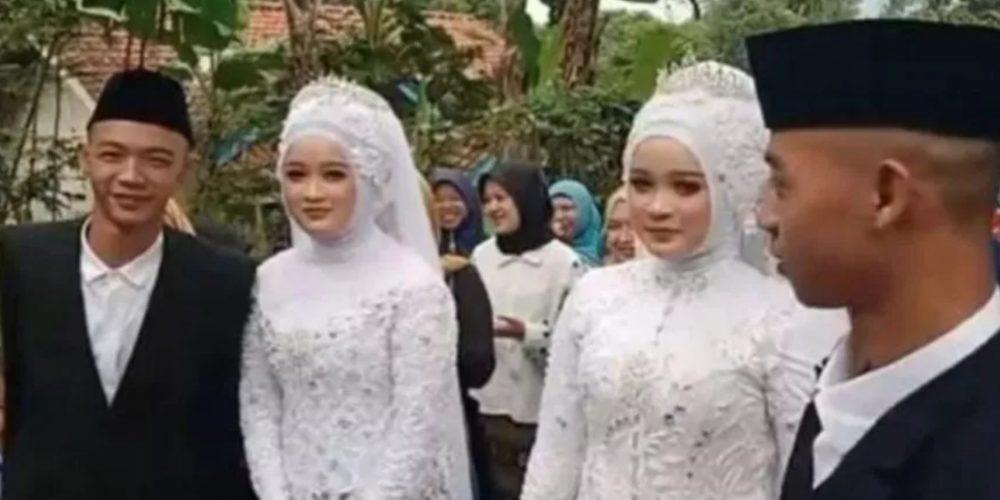 Hermanos gemelos se casan con gemelas y deciden vivir en la misma casa