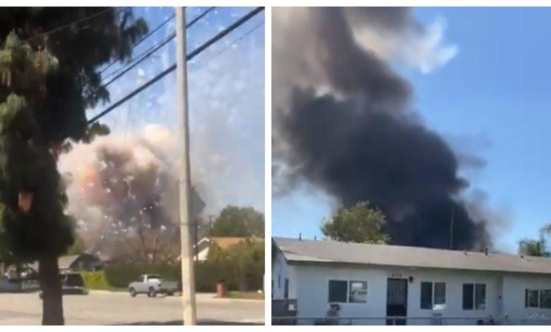 (Video)Explosión de fuegos artificiales sacude Ontario, California; hay dos muertos