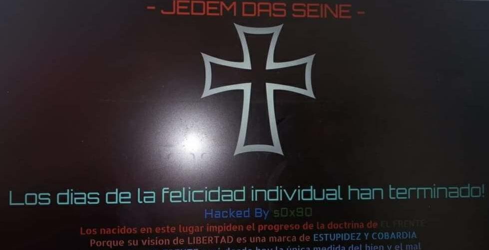 Hackean página del IEE Aguascalientes