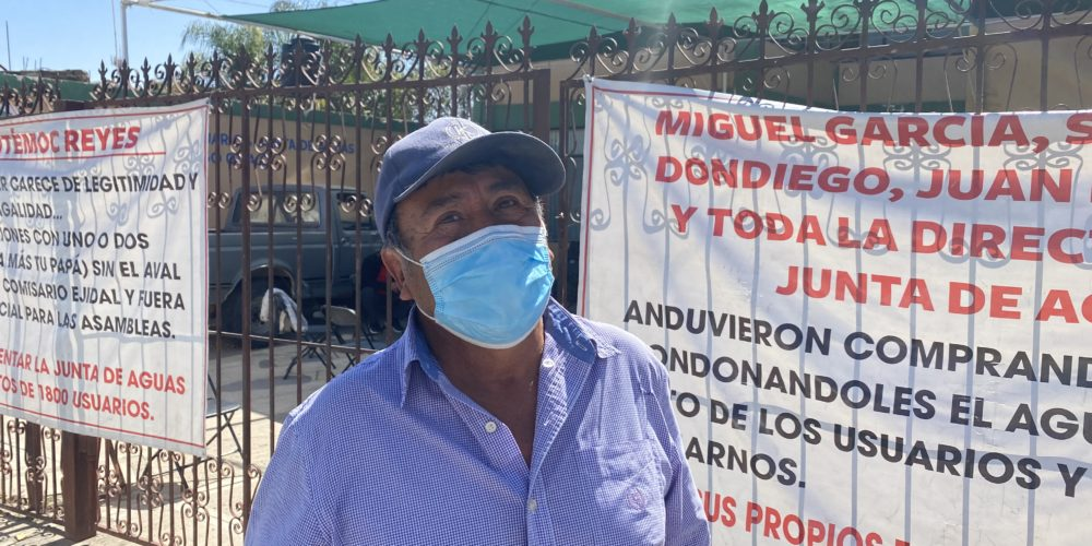Pliego petitorio de usuarios del Distrito de Riego 01 a la Conagua