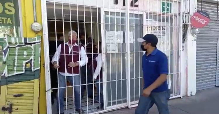Toman instalaciones de Morena en Aguascalientes, militantes acusan imposición en candidaturas