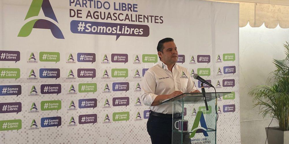No hay conflictos internos por registro de candidaturas en el PLA: Pérez