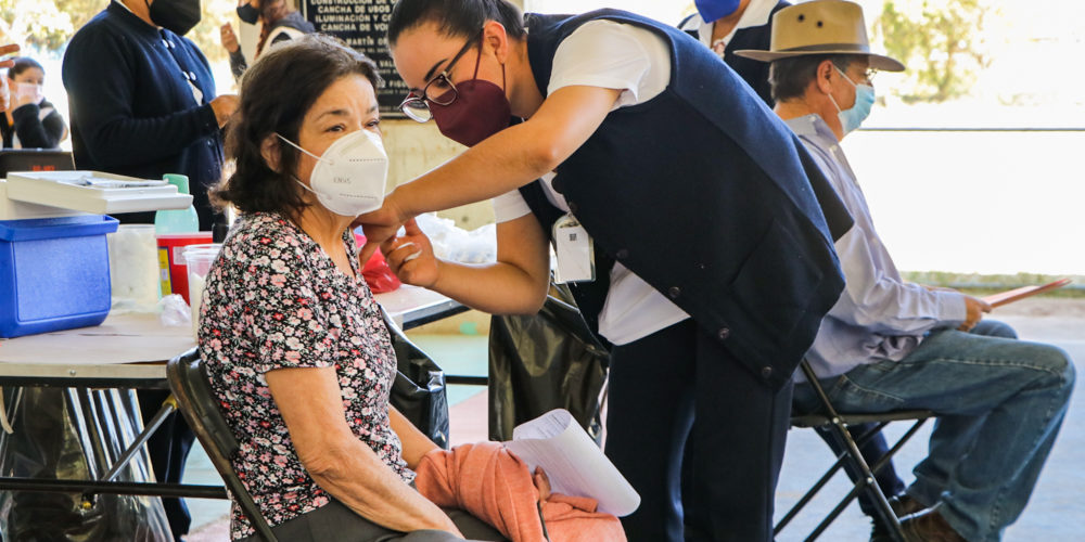 Este martes vacunarán a personas de 50 a 59 años en San José de Gracia, Cosío y Rincón de Romos