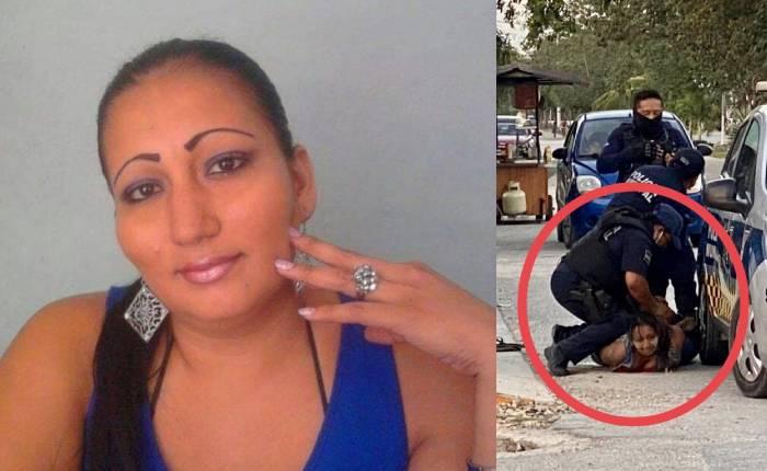 Mujer salvadoreña muere tras ser sometida por policías en Tulum