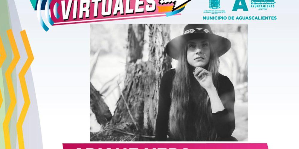 Disfruta de la presentación virtual de Ariane Vera