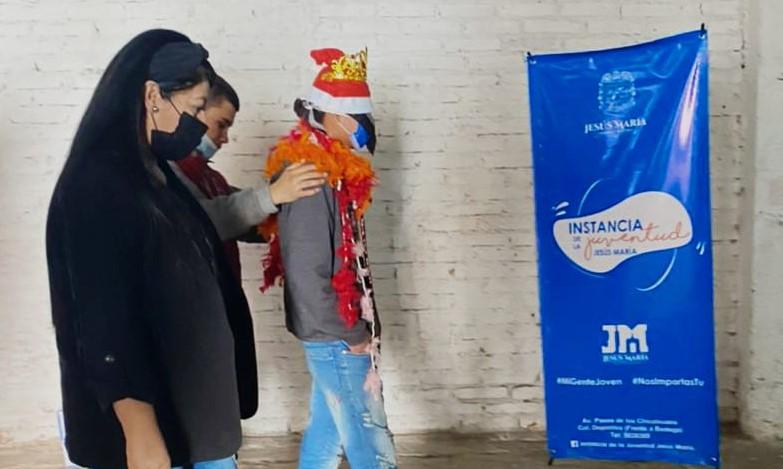 Instancia de la Juventud de JM lleva actividades a centros de rehabilitación