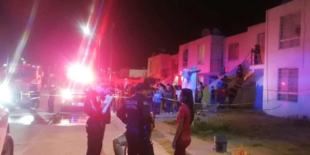 Sujeto prendió fuego a su casa en Villas del Río