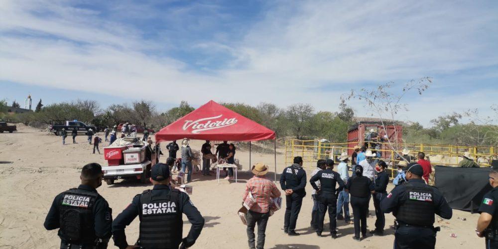Suspenden un rodeo baile en Tepezalá