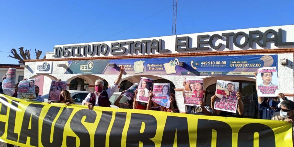 Morenistas acusan a Arturo Ávila por buscar imponer candidaturas en Aguascalientes