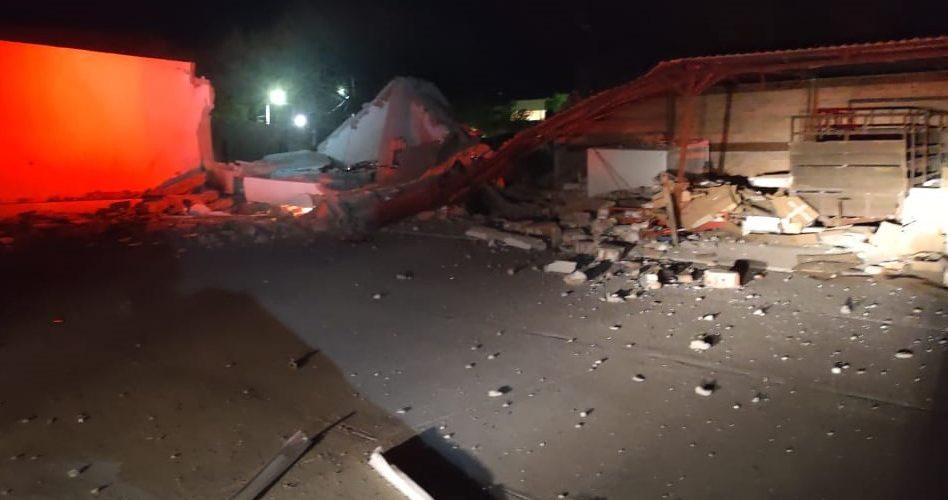Se registra fuerte explosión en un laboratorio en San Ignacio
