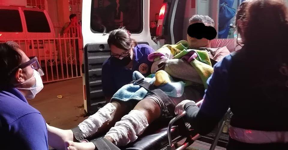 Flamazo deja dos heridos en un domicilio de Villa de las Palmas