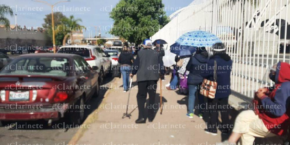 Llenos los 4 centros de vacunación en la capital de Aguascalientes
