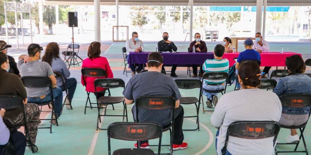 Acuerdan detalles de operativo de vigilancia por Semana Santa en Calvillo