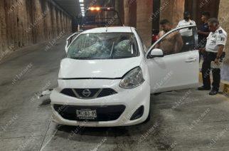 Accidentes en pasos a desnivel por velocidad y alcohol: Orozco