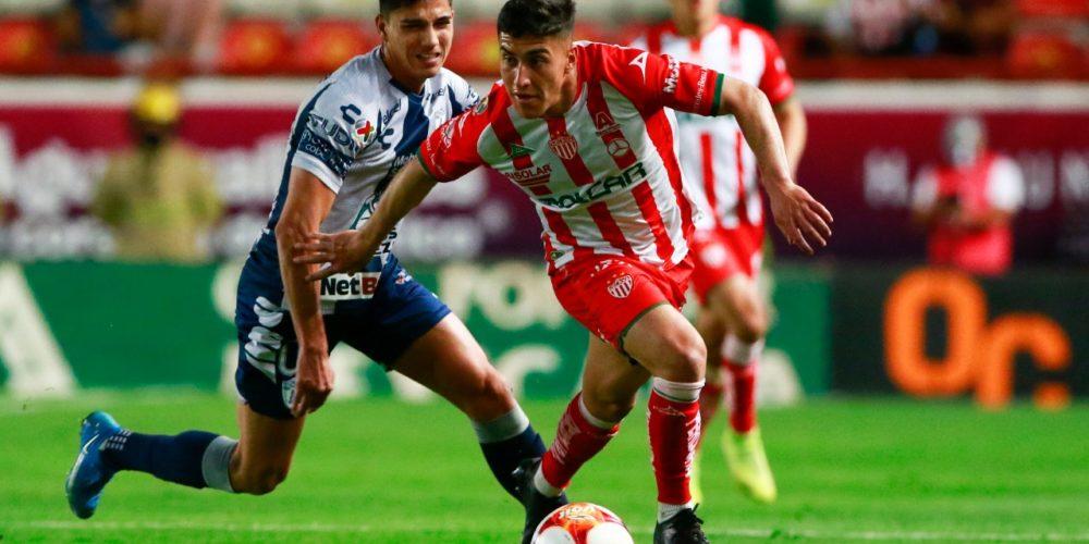 Necaxa suma 7 juegos sin ganar; empató con Tuzos