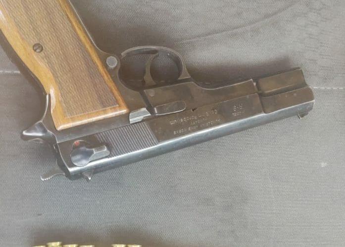 Capturan a zacatecano con una arma de fuego