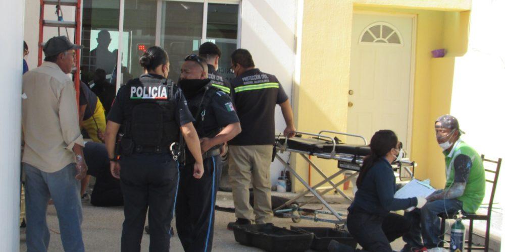 Hombre se intoxica al pintar un aljibe en Lomas de Santa Anita; está grave