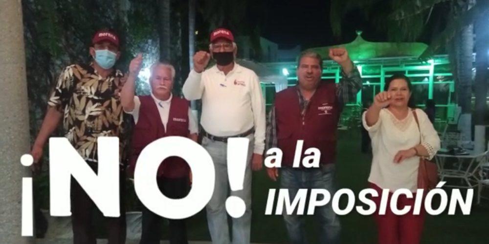 (VIDEO) Militantes de Morena rechazan la imposición, advierten rebelión en Aguascalientes