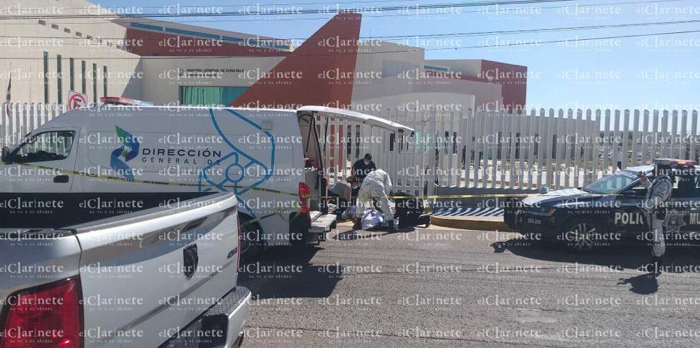 Muere sexagenario afuera de la clínica 3 del IMSS en Aguascalientes