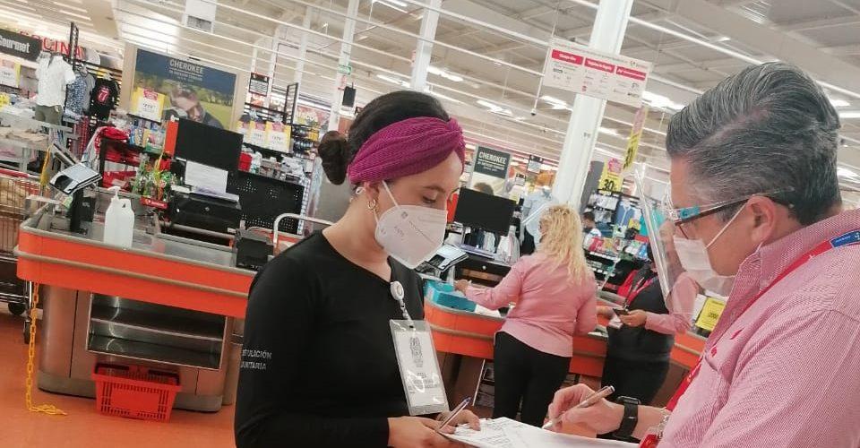 Refuerzan operativos en comercios para vigilar que cumplan con protocolos sanitarios