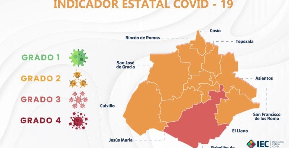 Municipio capital se mantiene en el riesgo mayor de Covid