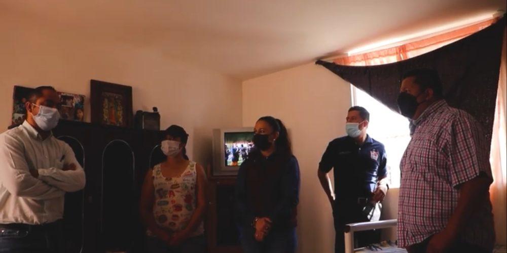 Sigue entrega de cuartos adicionales en Rincón de Romos