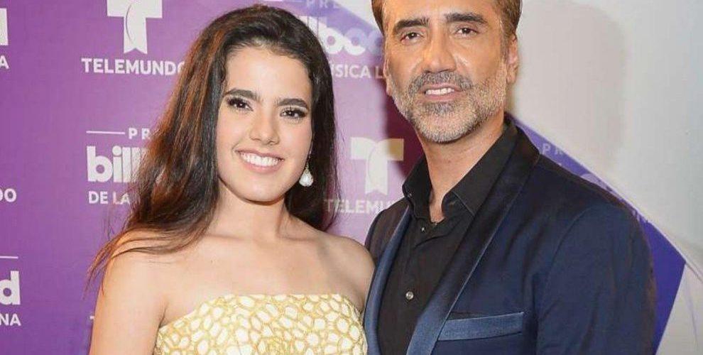 Revelan que hija de Alejandro Fernández tuvo duras complicaciones durante su embarazo