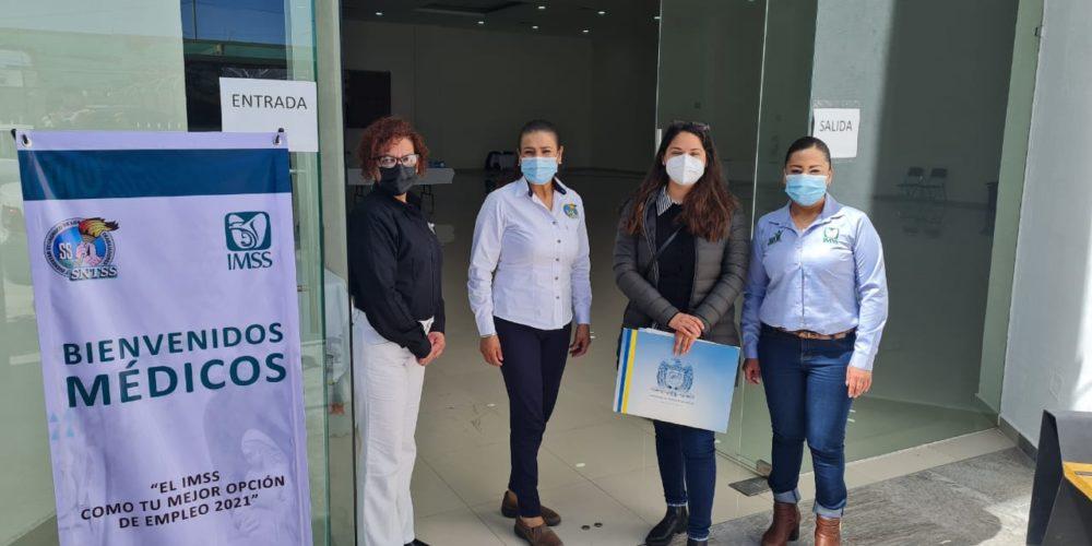 Llegan 114 nuevos médicos al IMSS Aguascalientes