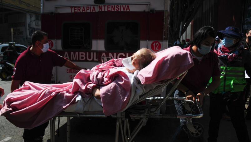 México está en el tercer lugar de nuevas muertes por Covid