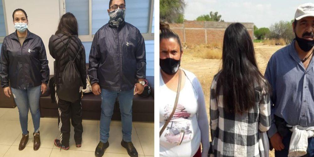 Localizan a par de menores de edad extraviadas en Aguascalientes