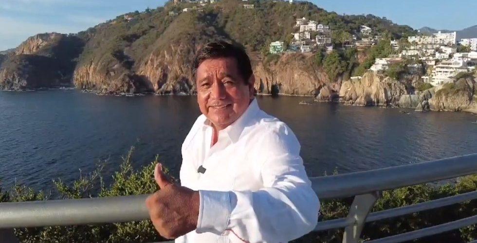 Morena ratificó a Félix Salgado Macedonio como candidato a la gubernatura de Guerrero