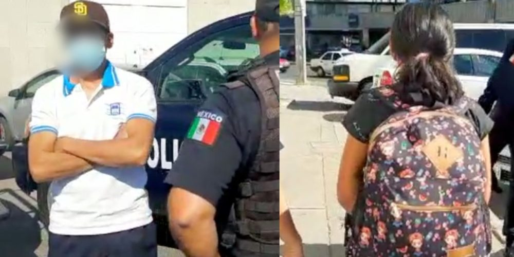 Taxista ayuda a localizar a una menor extraviada en Aguascalientes