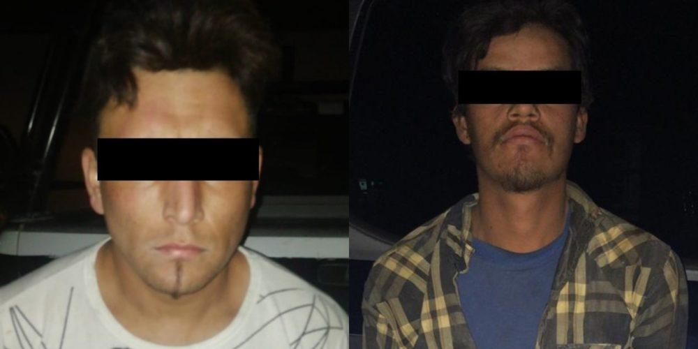 Atrapan a El Vaquilla vendedor de drogas y su cliente en Pabellón