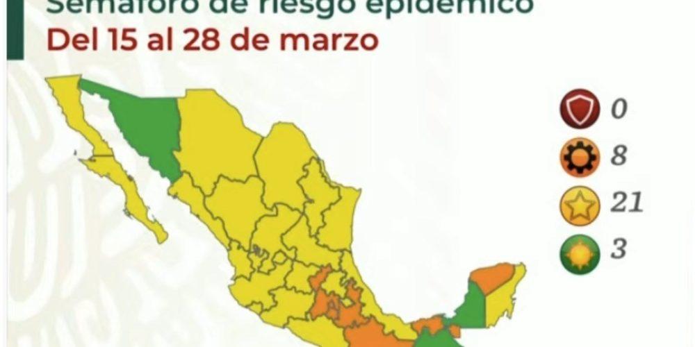 Aguascalientes continuará en semáforo amarillo