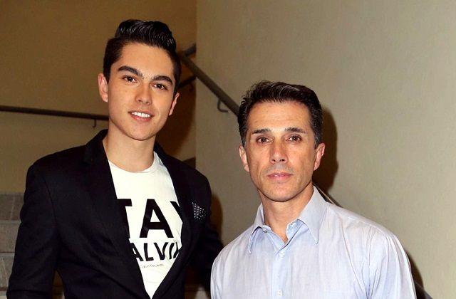 """Hijo de Sergio Mayer lo tachó de """"ridículo"""" por acusar que abusaron de él a los 17"""