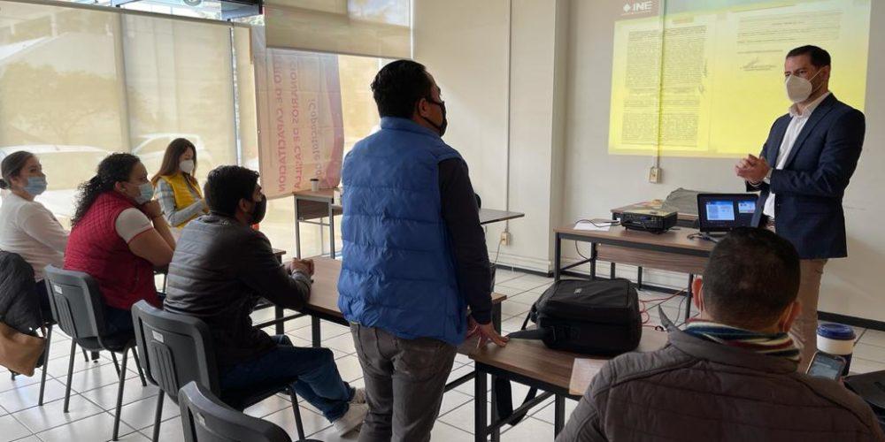 INE habilita Sistema Nacional de Registro de Candidaturas a nivel local