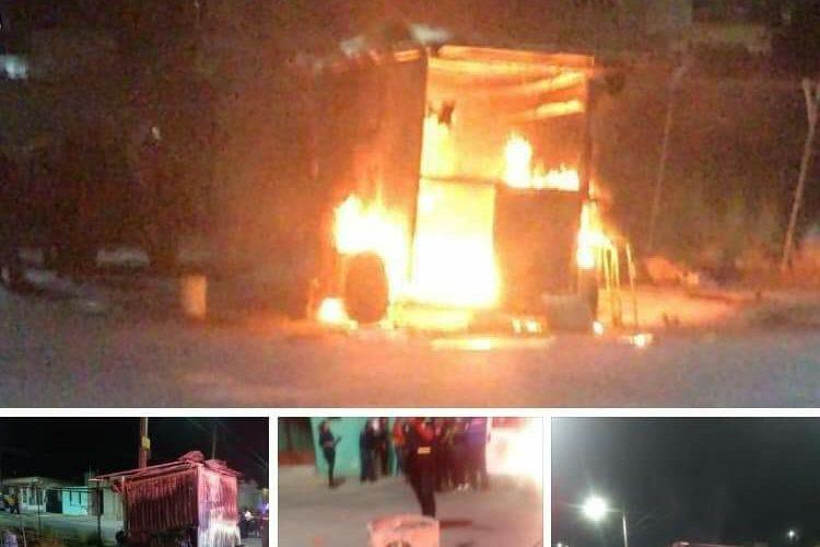 Solicitan ayuda para taqueros que sufrieron explosión en su puesto en Haciendas