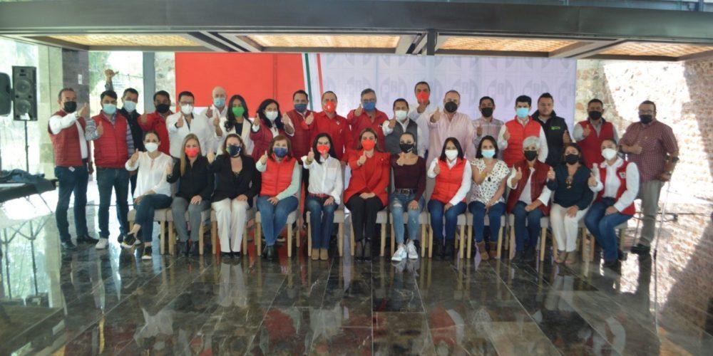 Estos son los candidatos del PRI al Congreso de Aguascalientes