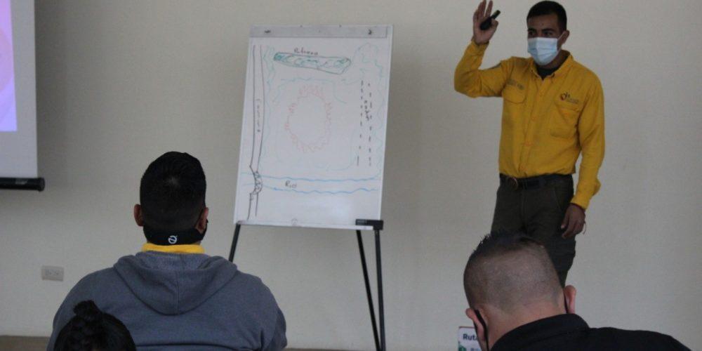 Capacitan a combatientes de incendios forestales en JM