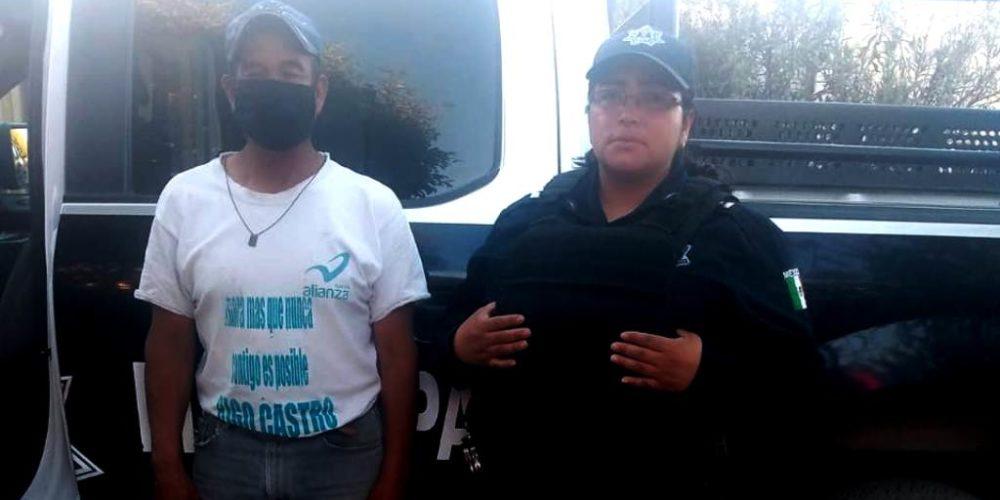 Policías frustran secuestro virtual en Tepezalá
