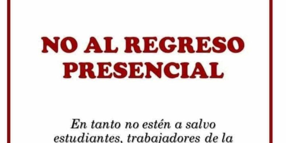Maestros de Aguascalientes rechazan regreso a clases presencial sin vacunas
