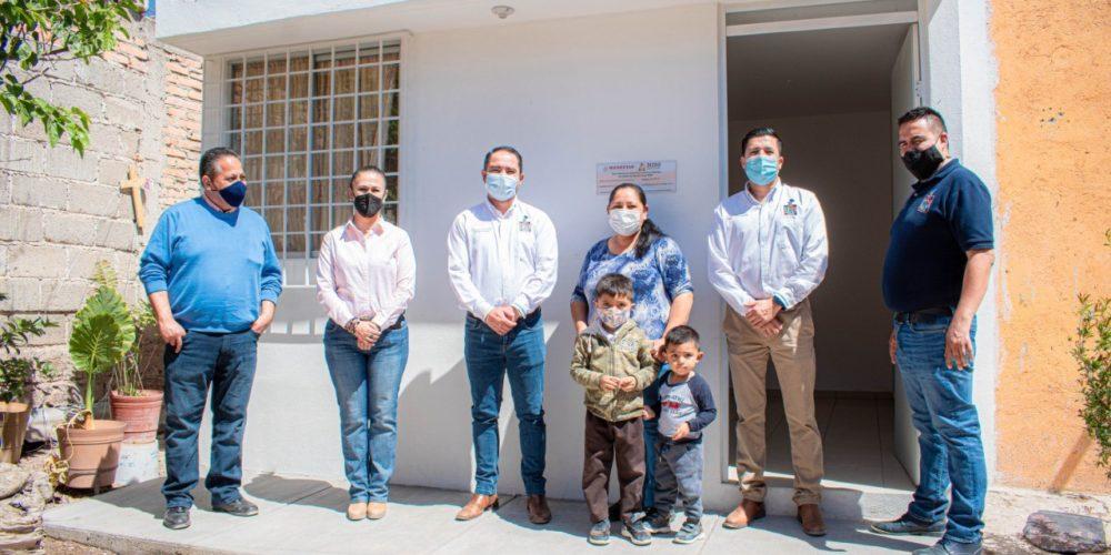 En Rincón de Romos se promueve la vivienda digna para evitar el hacinamiento