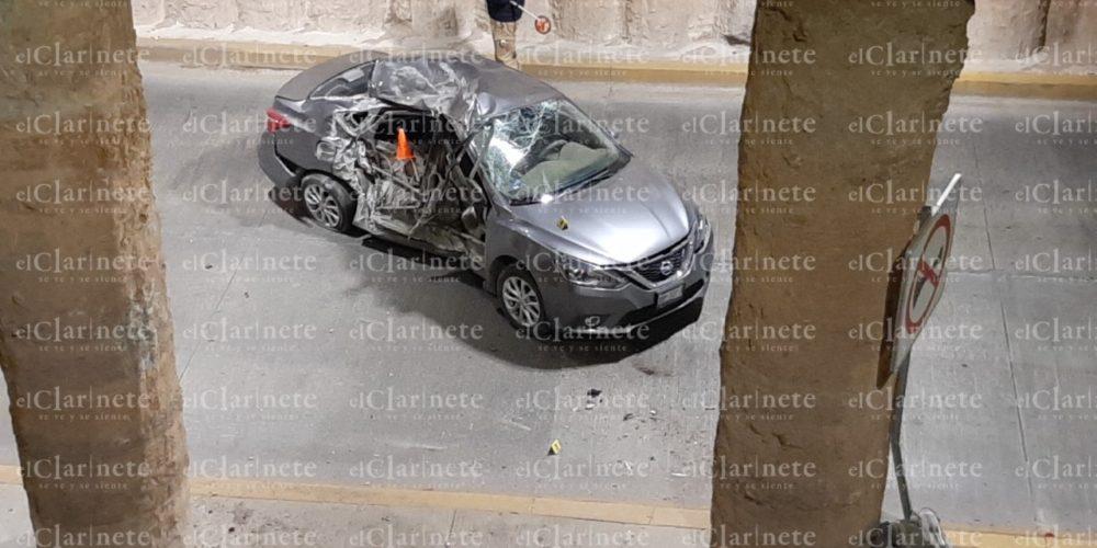 Ya fue identificado el que se mató en el puente de Salvador Quezada Limón