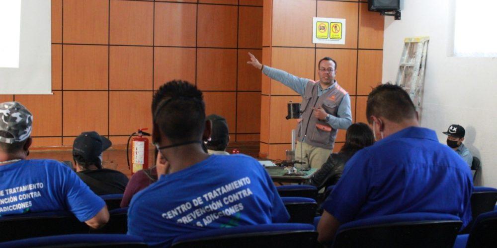 Capacitan a Centros de Rehabilitación de JM para hacer frente a emergencias