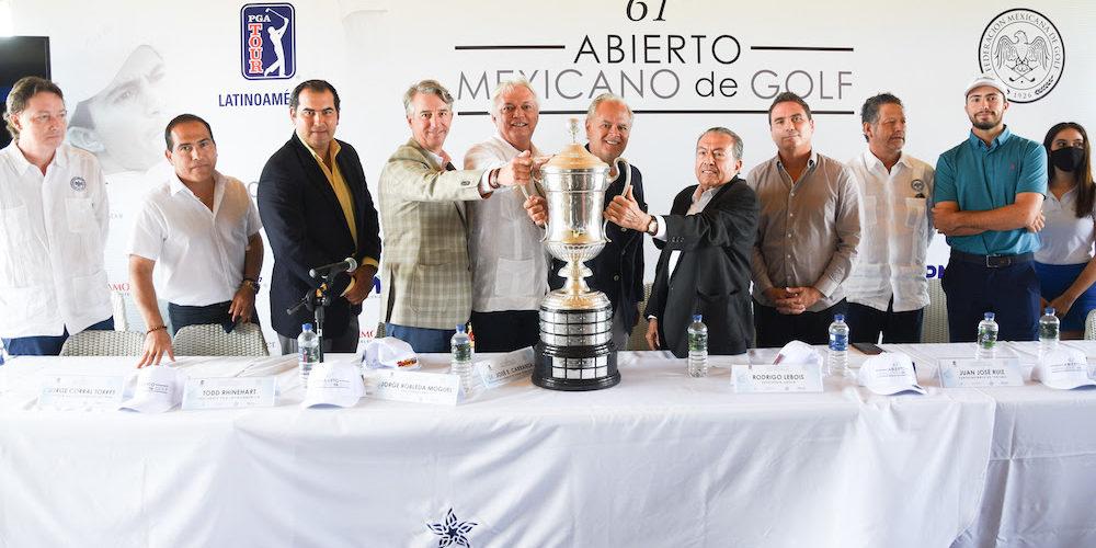 Arranca la edición 61º del Abierto Mexicano de Golf