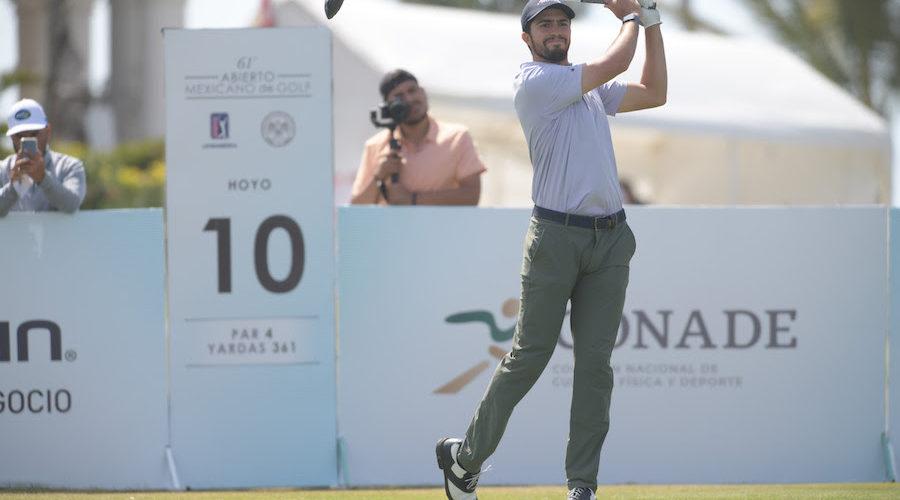 61º Abierto Mexicano de Golf: Álvaro Ortiz va por la hazaña