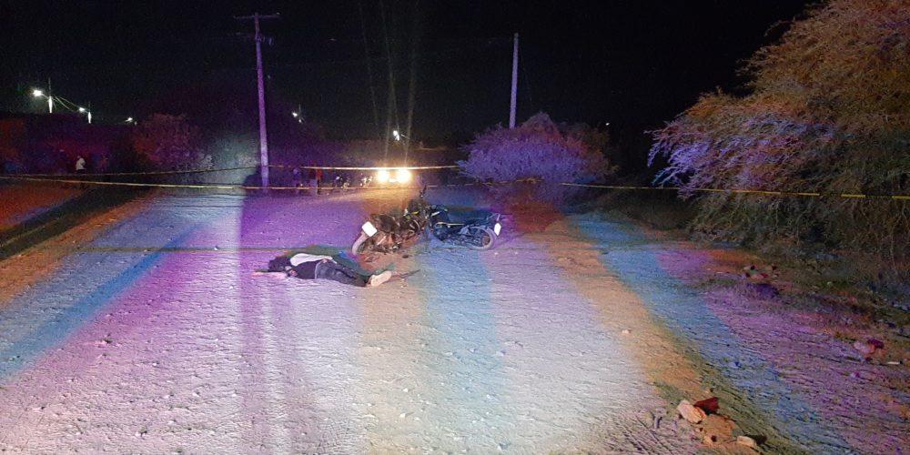 Choque frontal entre motocicletas: 1 muerto y 1 herido en Norias de Ojocaliente