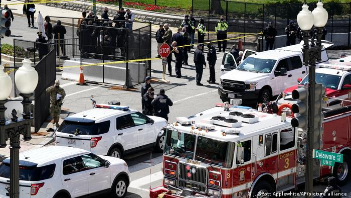Dos muertos en ataque en el  Capitolio de Estados Unidos