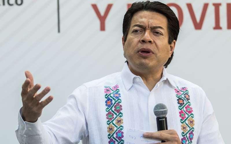 Delgado rechaza amenazas de Félix Salgado a consejeros del INE