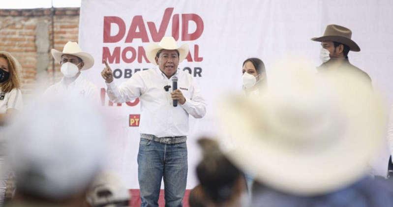 """Fue un """"roce involuntario"""", dice David Monreal del manoseo a una candidata"""